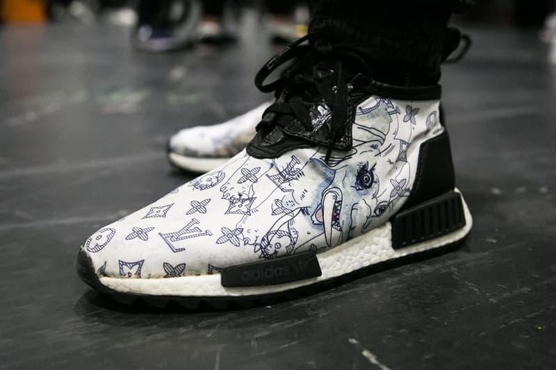 """#OnFeet at London Sneaker Con 2017 現在、転売市場で200万円前後で取引されている""""あのコラボモデル""""の撮影にも成功 ロンドン スニーカーコン adidas アディダス YEEZY BOOST 350 Balenciaga バレンシアガ Triple S AF-100 Lunar Force 1 """"ACRONYM '17"""" Pharrell ファレル Chanel シャネル adidas  NMD HYPEBEAST ハイプビースト"""