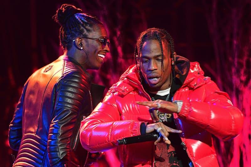"""若き実力派ラッパーコンビ Young Thug & Travis Scott が """"Me or Us"""" のリミックスでコラボ ヤング サグ トラヴィス スコット ラッパー ヒップホップ  Beautiful Thugger Girls"""
