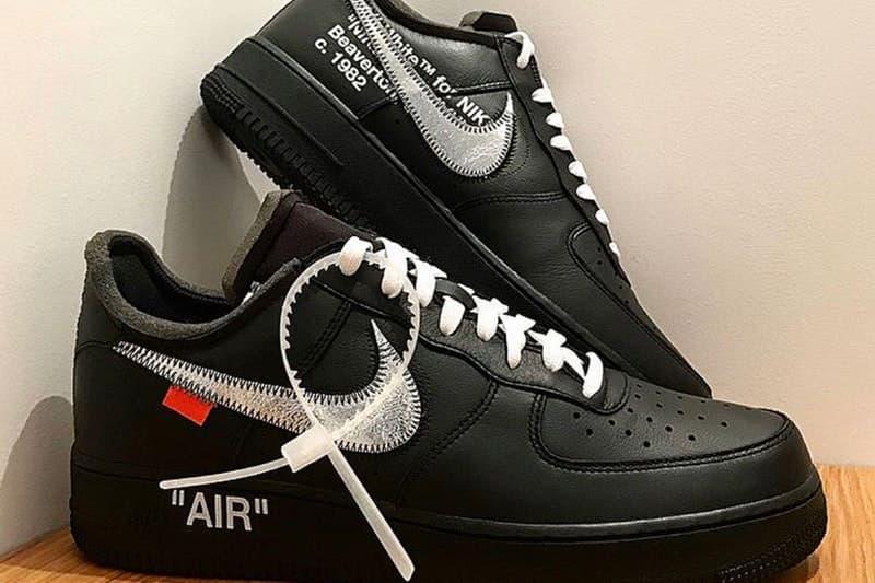 ヴァージル・アブロー & NY の近代美術館 MoMA による Nike Air Force 1 '07 のヴィジュアルがリーク モマ ナイキ Off-White™️ オフホワイト Virgil Abloh hypebeast 谷口吉生 yoshio taniguchi