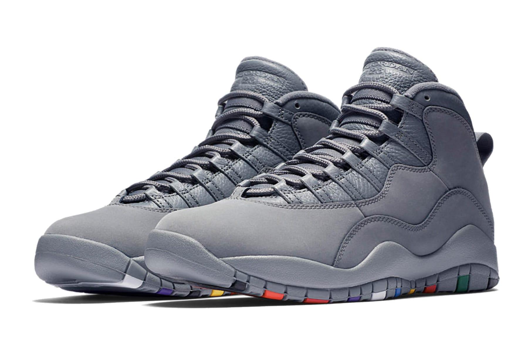 "Air Jordan 10 ""Cool Grey""の日本発売情報"