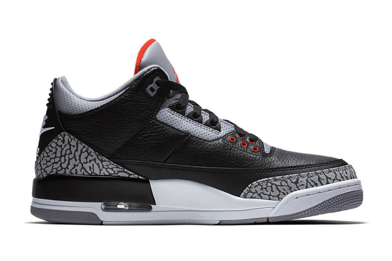 """Air Jordan 3 Retro OG """"Black Cement"""" の正式な復刻リリース情報が遂に解禁 エア ジョーダン 3 ブラック セメント ナイキ HYPEBEAST ハイプビースト"""