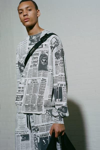 Alexander Wang が米タブロイド誌 New York Post とコラボアイテムを製作 アレキサンダー ワン ニューヨークポスト hypebeast