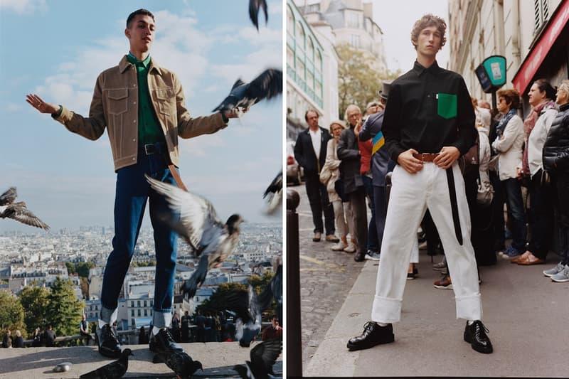 ビビッドな色彩を纏った AMI Alexandre Mattiussi 2018年春夏キャンペーンビジュアルをチェック アイコニックなテキストグラフィックTシャツやスニーカーを筆頭にコーデの主役顔アイテムが多数ラインアップ GQ GAP ギャップ Best New Menswear Designer in America AMI Alexandre Mattiussi アミ アレキサンドル マテュッシ From Paris With Love パリより愛をこめて AMI シャツ トラッカージャケット Tシャツ デニムパンツ スニーカー HYPEBEAST ハイプビースト