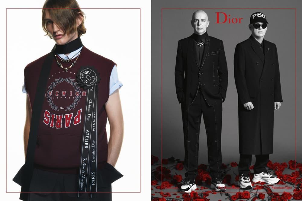 ロマンティシズムの風を吹かせる Dior Homme 2018年サマーキャンペーン ディオール オム pet shop boys ペットショップボーイズ hypebeast