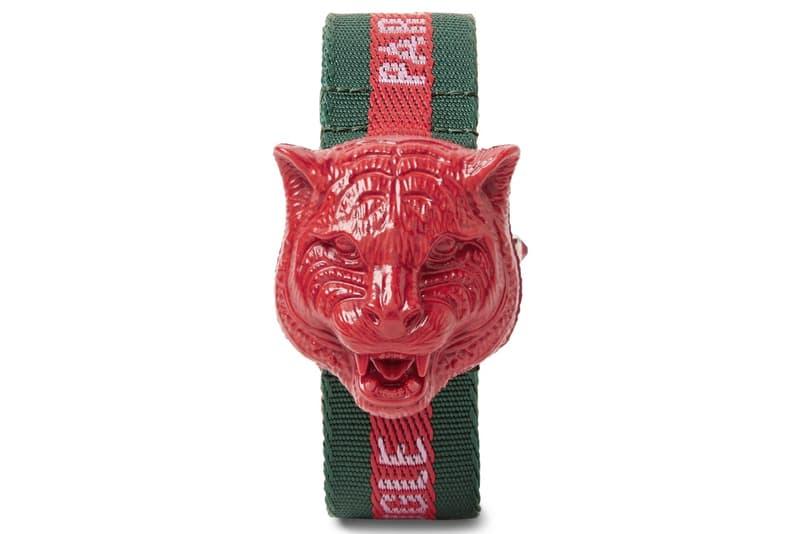 Gucci より定番タイガーヘッドモチーフで圧巻の造形美に仕上がった腕時計が登場 〈Rolex〉や〈IWC〉など世界有数の高級時計産地で製造された折り紙つきの性能もチェック Gucci グッチ クリエイティブ・ディレクター Alessandro Michele アレッサンドロ・ミケーレ アニマル HYPEBEAST ハイプビースト