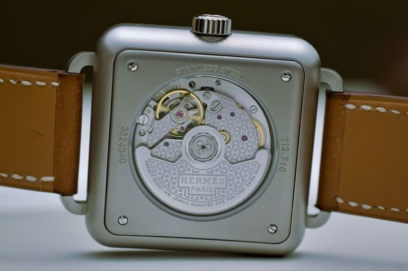 """Hermès より独自の路線を極めたラグジュアリーな新作腕時計 """"Carrè H"""" が登場 圧倒的な品格と細部に宿るクラフツマンシップで腕元に華やかさを演出してみては? Hermès エルメス CarrèH カレ Marc Berthier マイク・ベルチェ バレニアカーフスキンストラップ HYPEBEAST ハイプビースト"""