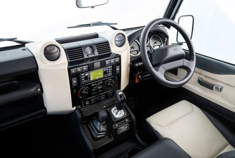 Land Rover より特別仕様に変貌を遂げた創立70周年記念モデル Defender Works V8 がリリース 強靭なV8エンジンや高級インテリアを搭載した史上最強の新モデルは限定150台 Defender ディフェンダー Land Rover ランドローバー Recaro レカロ Mercedes-Benz メルセデス・ベンツ Gクラス Ford フォード Mustang マスタング HYPEBEAST ハイプビースト