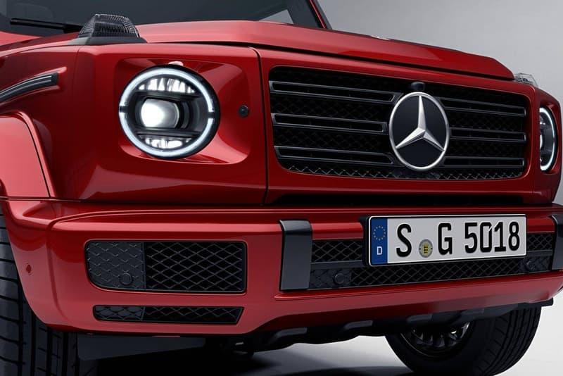 """2019年発売予定の新型 Mercedes-Benz Gクラスに """"The Night Package"""" オプションが新たに登場 スポーティ性を追求したAMGモデルでのみオプション選択可能に Mercedes-Benz メルセデス・ベンツ Gクラス AMG グリルトリム 断熱ガラス 20インチ アルミホイール スポーク ブレーキキャリパー フラットボトムステアリングホイール オプション HYPEBEAST ハイプビースト"""
