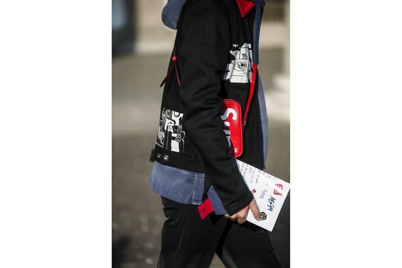 Streetsnaps:Milan Fashion Week Men's Fall/Winter 2018 Part 2 ラグジュアリーストリートの人気を裏付ける欧州ヘッズたちの冬スタイルをチェック Prada プラダ トラックパンツ adidas アディダス Raf Simons ラフ・シモンズ スニーカー Supreme シュプリーム Louis Vuitton ルイ・ヴィトン ショルダーバッグ J.W. Anderson J.W.アンダーソン ハーフジップジャージー Maison Margiela メゾン マルジェラ コート Burberry バーバリー キャップ Off-White™️ オフホワイト スカーフ HYPEBEAST ハイプビースト