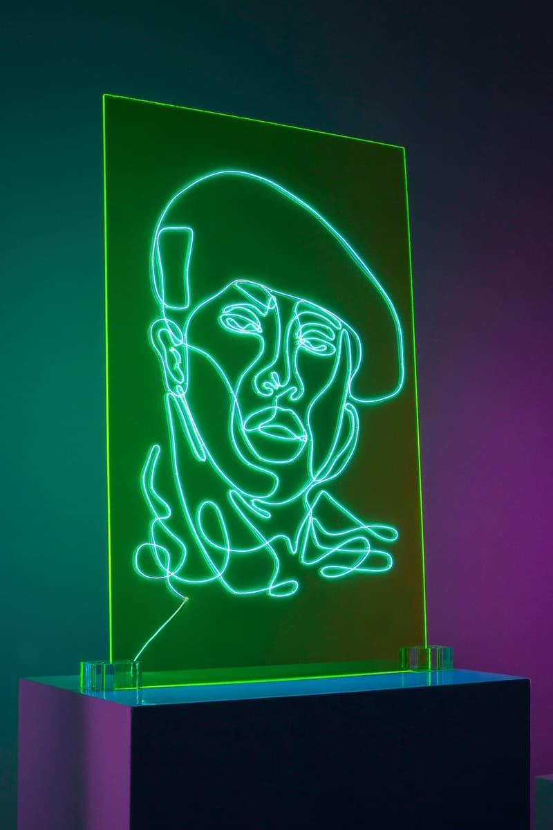 香港発のアーティストが有名ラッパー12名の肖像画をネオンで表現したアートプロジェクトを発表 ファッションシーンにも縁の深いカニエやファレルまでも1本のネオン管で幻想的にアレンジ Natalie Wong ナタリー・ウォン Egon Schiele エゴン・シーレ Pablo Picasso パブロ・ピカソ Kanye West カニエ・ウェスト Eminem エミネム Pharrel Williams ファレル・ウィリアムス Drake ドレイク Nicki Minaj ニッキー・ミナージュ Snoop Dogg スヌープ・ドッグ 佐伯俊男 HYPEBEAST ハイプビースト