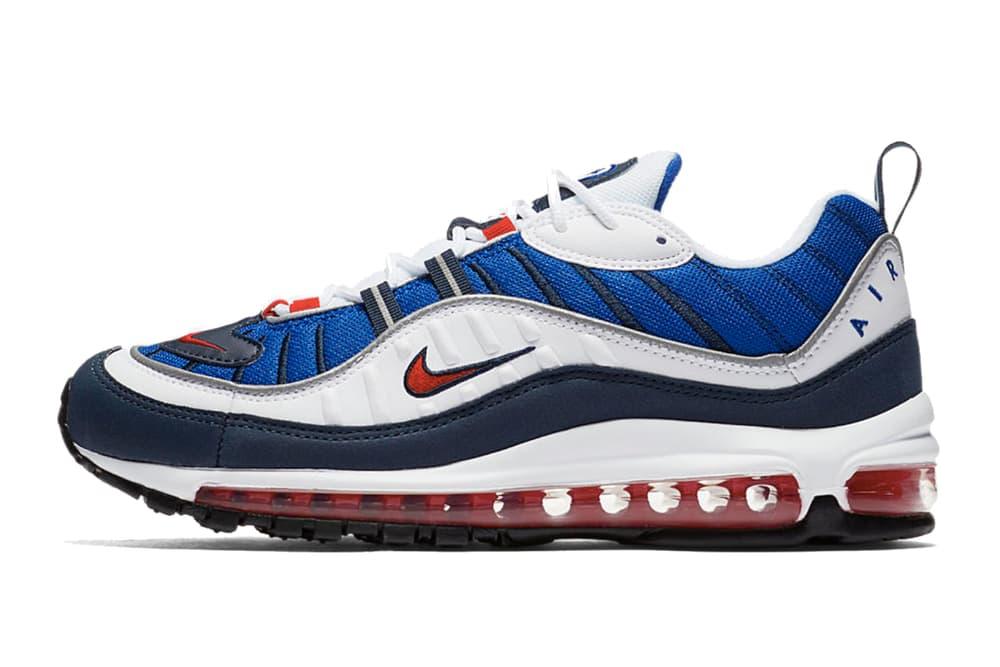 "Nike Air Max 98 ""ガンダム"" モデルこと ""Seismic Velocity"" モデルの復刻リリース情報が解禁 ナイキ エアマックス HYPEBEAST ハイプビースト"