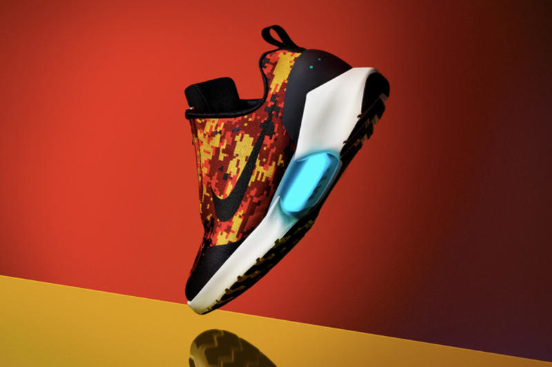 Nike が 計4型の HyperAdapt 1.0 新作 モデル ニューモデル  発売をゲリラ アナウンス ナイキ ハイパーアダプト HYPEBEAST ハイプビースト デジタル カモフラージュ 迷彩 デジカモ