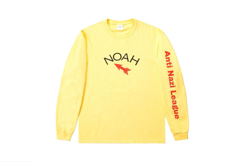 Noah より新たなナチズムに警鐘を鳴らすカプセルコレクションが登場 環境破壊や人種差別など社会問題に切り込むデザイナーが次に着目したのは反社会的勢力 Supreme シュプリーム Brendon Babenzien ブレンドン・バベンジン Noah ノア フーディ ロングスリーブTシャツ パッチ HYPEBEAST ハイプビースト