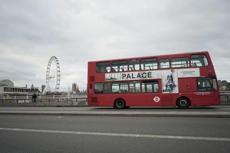 Palace による遊び心溢れる新広告がロンドン名物の2階建てバスに出現  パレス HYPEBEAST ハイプビースト