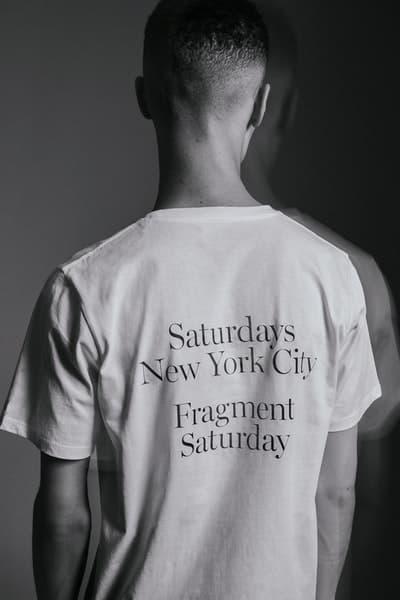 Saturdays NYC x fragment design カプセルコレクションのビジュアル&発売情報が遂に解禁 フーディやTシャツだけでなく東京発のフレグランスレーベル〈retaW〉を招聘した粋なアイテムもラインアップ 藤原ヒロシ Instagram インスタグラム fragment design フラグメント デザイン Saturdays NYC サタデーズ ニューヨークシティ 稲妻ロゴ フーディ Tシャツ aturdays New York City/Fragment Saturday retaW リトゥ キャンドル フレグランスタグ HYPEBEAST ハイプビースト