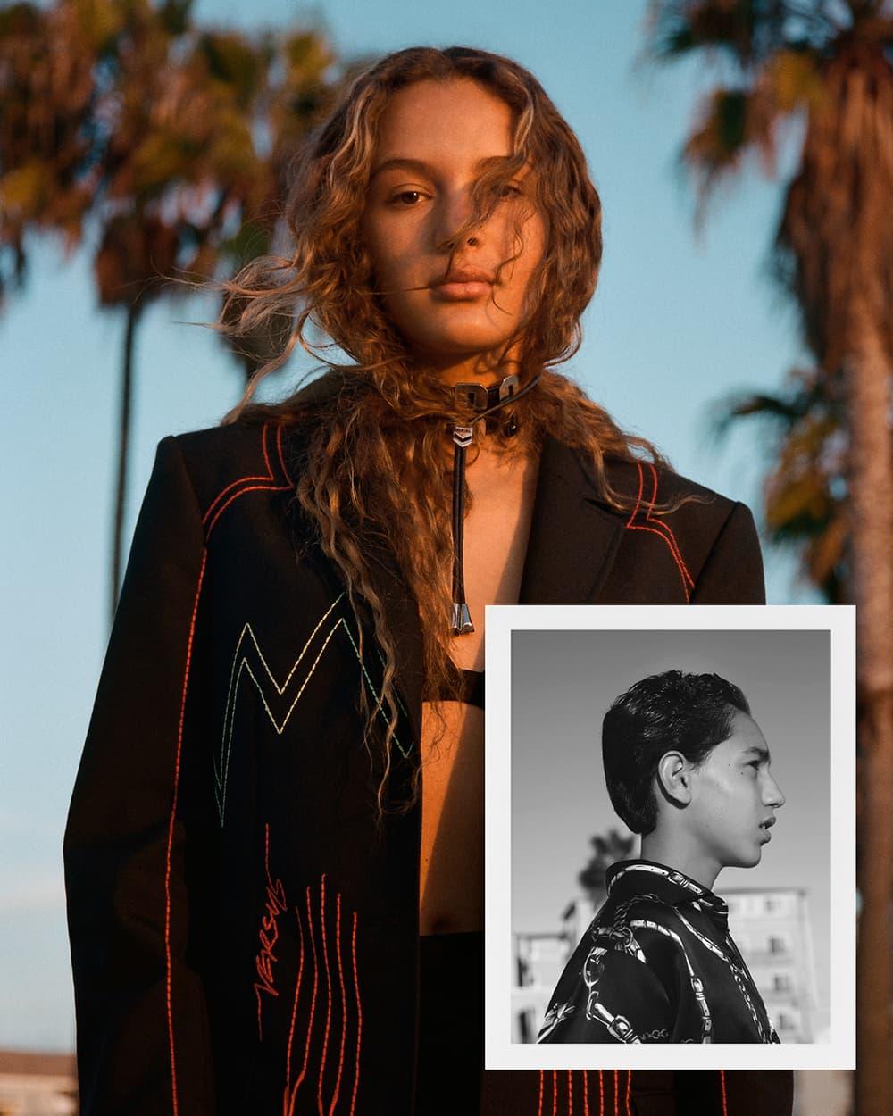 """LAのストリートでキャスティングした地元の若者たちが自身の全てを表現する Versus Versace 2018年春夏キャンペーン 文化の限界値を押し上げるユース世代の自由なバイブスと反骨精神を投影したビジュアルから垣間見える〈Versus Versace〉のアティチュード 〈Versus Versace(ヴェルサスヴェルサーチ)〉より、Ben Toms(ベン・トムズ)が撮り下ろした2018年春夏のキャンペーンビジュアルが到着した。ロサンゼルスを横断しながら撮影を敢行した今季は、ストリートでキャスティングした地元の若者をモデルに起用。2017年秋冬からの続編となるこの""""Sub Versus 2""""では、文化の限界値を押し上げる革新者世代の若者たちの多様性に迫り、スケートパーク、ビーチや海沿いの遊歩道で自分自身の活動を主張しながら、連帯感の溢れたロードトリップを通して個性や反骨心のすべてを表現している。   ルールも存在しない、偏った判断も基準もない。ロサンゼルスは、今の〈Versace〉のアティチュードを具現化したような街である。そんな新たなクリエイティブ世代の現実を描いた2018年春夏キャンペーンは、上のフォトギャラリーをチェック。  あわせて、ミラノファッションウィークにてお披露目された2 Chainz(2 チェインズ)x〈Versace〉のコラボフットウェアもお見逃しなく。"""