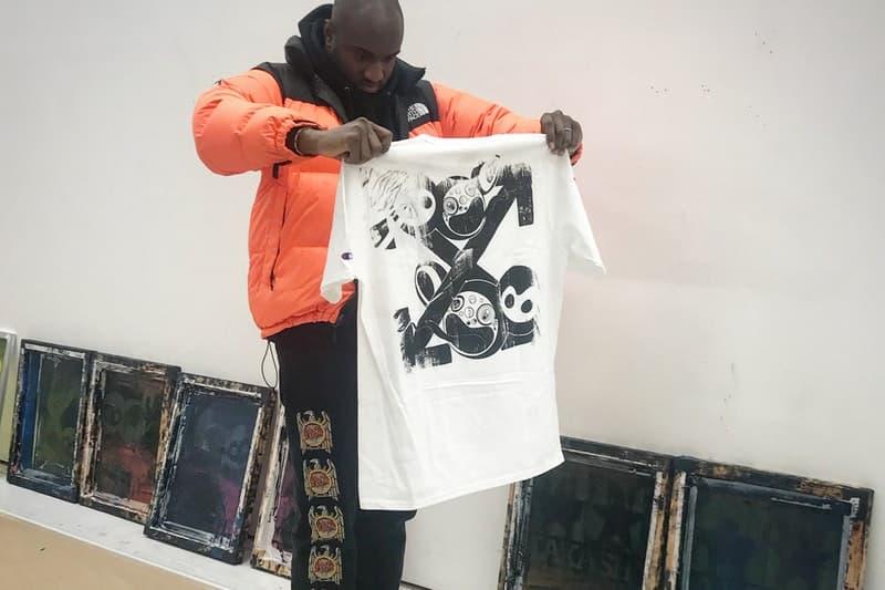村上隆が友好関係を築くヴァージル・アブローとのコラボ作品を Instagram に投稿 『Gagosian Gallery』とのシルクスクリーンTシャツに続くコラボ作品とは一体…… Gagosian Gallery ガゴシアン・ギャラリー Virgil Abloh ヴァージル・アブロー 現代アーティストの村上隆 Instagram インスタ インスタグラム DOB Off-White™️ オフホワイト クロスアロー HYPEBEAST ハイプビースト