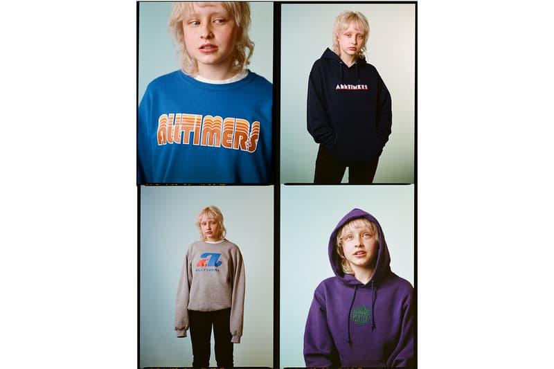変化球多めな謎のスケートレーベル Alltimers が2018年春ルックブックを公開 様変わりなデザインが購買意欲を駆り立てる都会派スケーターブランドの新シーズンを始動 都会派スケーターのコアブランドとして、『Supreme New York』や『Dover Street Market』にもストックされるNY発の謎多きスケートレーベル〈Alltimers(オールタイマーズ)〉が、冬に別れを告げる2018年春のルックブックを公開した。Michael Fox(マイケル・フォックス)が撮影したフォトセットでは、フーディ、Tシャツ、ショーツなど、〈Alltimers〉を象徴するカクテルロゴを配したエッセンシャルなアイテムにクローズアップ。また、今季は歯磨き粉でブランド名を描いた歯柄のグラフィックと鱗デザインのスケートデッキも登場する模様だ。  本コレクションは〈Alltimers〉のオンラインストアならびに一部取り扱い店舗にて、2月20日(現地時間)より発売開始。クルーの面々がモントリオールやNYのストリートを舞台にキレキレなライディングを披露した〈Alltimers〉のスケートクリップもプレイバックしておこう。