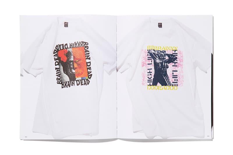 LA のクリエイティブレーベル BRAIN DEAD がアーカイブのTシャツ回顧録をリリース ブレイン デッド hypebeast (un)  アーカイブ Tシャツ 回顧