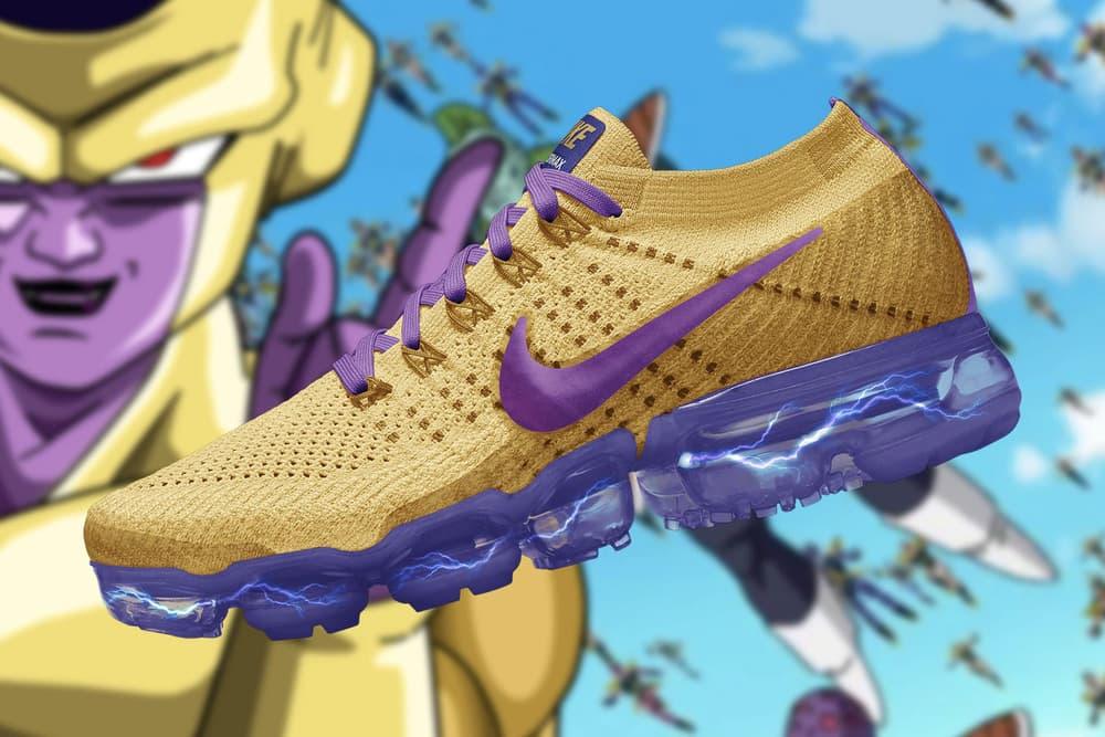 『ドラゴンボール超』と Nike Air VaporMax がフュージョン? 〈adidas〉とのコラボに不満なクリエイターが 〈Nike〉 の人気スニーカーを『ドラゴンボール超』仕様に3Dカスタマイズ