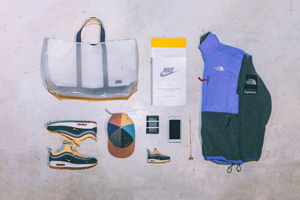 """Essentials:ショーン・ワザーズプーン ファッション/スニーカーシーンに多大なる影響力を持つLA在住のキーパーソンが遂に登場 不定期人気連載企画 #Essentials エッセンシャルズ Nike Air Max Day 2018 エアマックスディ プレミアムプレビューイベント 中国・上海 Sean Wotherspoon ショーン・ワザーズプーン LA ロサンゼルス 古着屋 Round Two マストハブアイテム コーデュロイ Air Max 1/97 """"Vote Forward"""" SW Supreme シュプリーム THE NORTH FACE ザ・ノース・フェイス Denali Jacket fragment design フラグメント デザイン Louis Vuitton ルイ・ヴィトン 二つ折り財布 StreetSnaps ストリートスナップ HYPEBEAST ハイプビースト"""