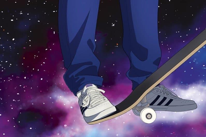 Hélas x adidas Skateboarding よりアニメ風ビジュアルを採用したカプセルコレクションが登場 国民的アニメ/漫画『ドラゴンボール』とのコラボに便乗したルーカス・プイグの粋なビジュアルに注目 Palace パレス スケーター Lucas Puig ルーカス・プイグ Hélas ヘラス adidas Skateboarding アディダス スケートボーディング ドラゴンボール 国民的アニメ 漫画 傘 ジャージーセットアップ ポロシャツ パネルキャップ Tシャツ ダッフルバッグ Lucas Premiere HYPEBEAST ハイプビースト