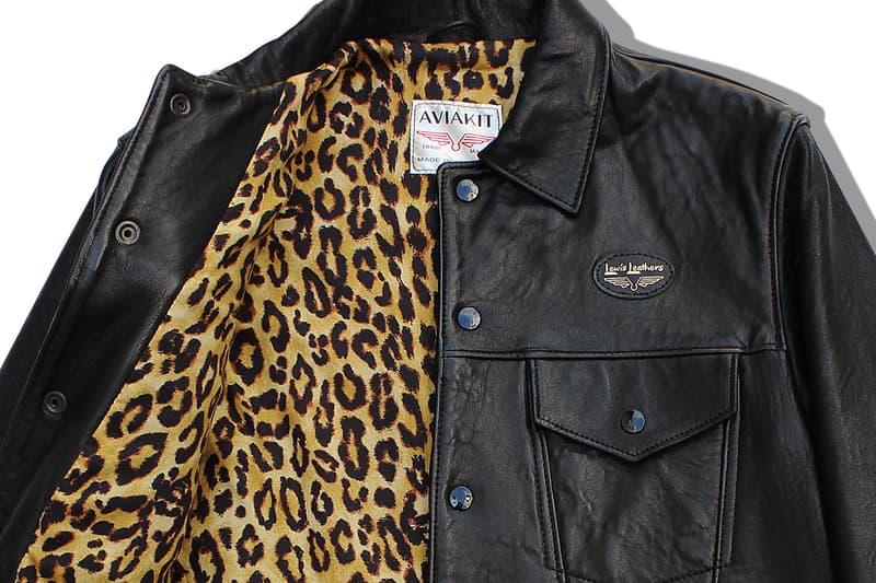 ヒステリックグラマーがルイスレザーズの名作ジャケットを別注 Hysteric Glamour x Lewis Leathers