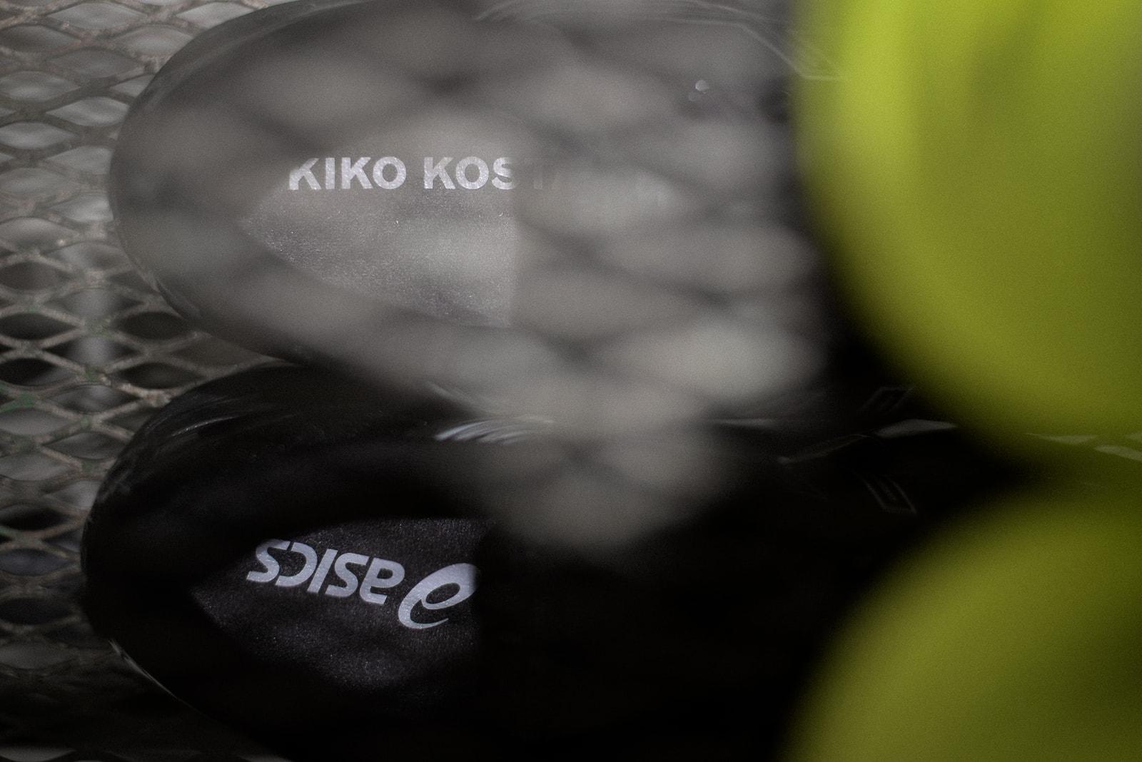 先日即完した〈ASICS〉とのコラボモデル誕生秘話に加えて、流行りのダッドシューズへの個人的見解を聞き出すことにも成功 ブルガリアが産んだ鬼才 キコ・コスタディノフの俯瞰で捉える現代のファッションシーン