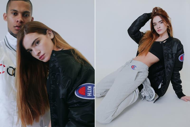 KITH x Champion のタッグで手がけたコラボスポーツウェアコレクションが登場 キス チャンピオン hypebeast スポーツウェア コラボ