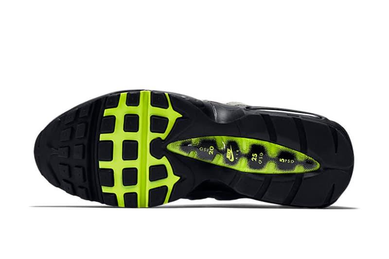 "Nike Air Max 95 OG ""Neon"" の日本国内における復刻リリース情報が解禁 Air Max Dayに向けた怒涛のリリースラッシュに便乗し、〈Nike〉の長い歴史に名を刻むヘッズ垂涎の名作モデルが遂にカムバック Nike ナイキ Air Max Day 3月26日 Air Max 95 OG Neon ビジブルエア 17,280円 2月26日 AM9時 SNKRS Air Jordan 1""Bred Toe"" HYPEBEAST ハイプビースト"