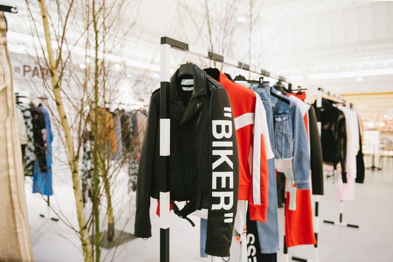 Off-White™ がパリのボン・マルシェ百貨店にポップアップカフェをオープン オフホワイト hypebeast パリ ポップアップ カフェ ジュースバー ボン・マルシェ百貨店