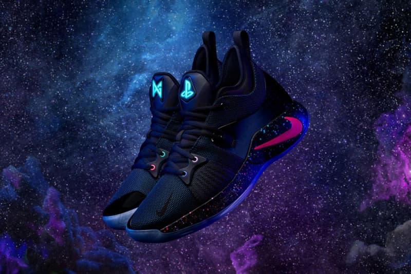 Nike と PlayStation がタッグを組んだ前代未聞のコラボフットウェア第2弾が登場 「NBA界で1位、2位を争うゲーマー」と自負するポール・ジョージの熱望により再びチームアップが実現 ハイパーアダプト HyperAdapt 1.0 Nike ナイキ Sony ソニー PlayStation NBA クラホマシティ・サンダース Paul George ポール・ジョージ DualShock4 ボタンマーク PS4 ダイナミックテーマ 銀河 Instagram インスタグラム Pharrell Williams ファレル・ウィリアムス Billionaire Boys Club ビリオネアボーイズクラブ adidas Originals アディダス オリジナルス Hu NMD HYPEBEAST ハイプビースト