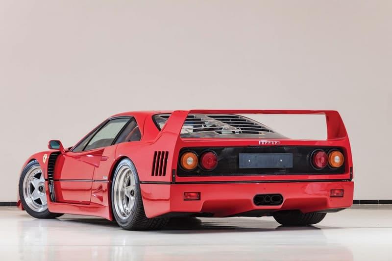 創設者エンツォ・フェラーリが遺した究極のマシン Ferrari F40 がオークションに登場 Ferrari 自動車 車