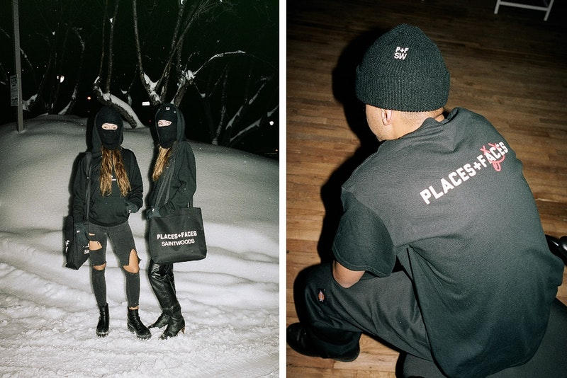 Places+Faces x Saintwoods よりモノクロで表現された最新カプセルコレクションが登場 ミニマルさを追求しモードの香りさえ漂わす珠玉のラインアップをチェック オリジナルフォトマガジン Places+Faces プレイシズ プラス フェイシズ Saintwoods セイントウッズ カプセルコレクション Tシャツ フーディ タートルネック ビーニー 覆面ニットキャップ 手袋 トートバッグ ブラック ホワイト パリ YOUTH OF PARIS ユース オブ パリス Paul Smith ポール・スミス Bella Hadid ベラ・ハディッド ヴィンテージブティック PRETTY BOX プリティ ボックス 最新エディトリアル HYPEBEAST ハイプビースト