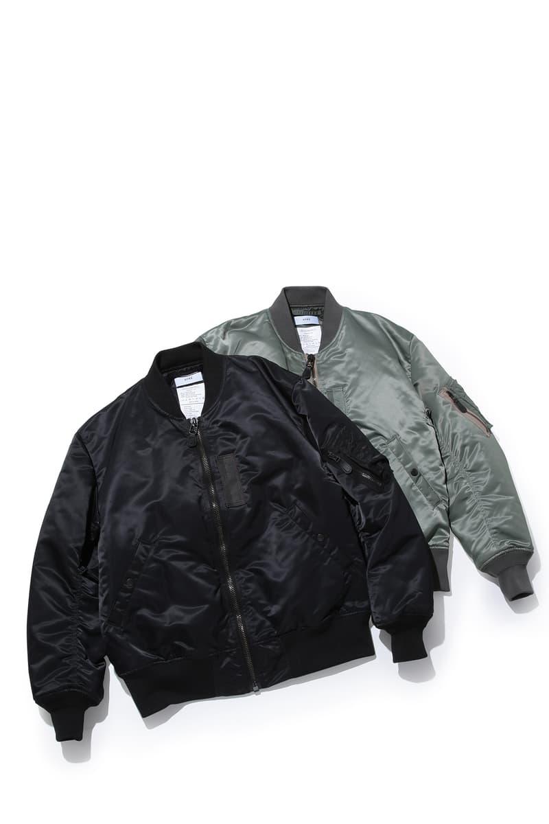 HYKE よりゆったりとしたシルエットを纏う MA-1ジャケットが BIOTOP 限定でリリース ハイク ma-1 ma1 ビオトープ hypebeast