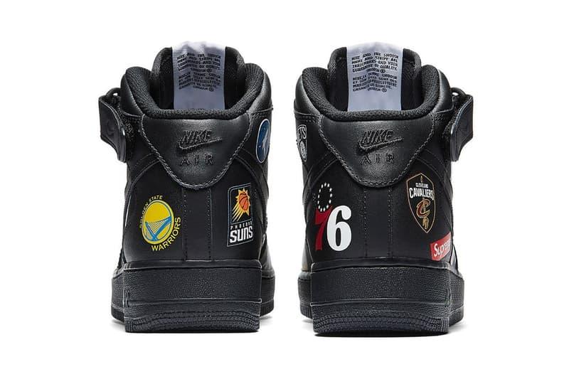 Supreme x Nike が NBA を迎えて製作した次なるコラボ Air Force 1 Mid のビジュアルが登場 シュプ シュプリーム ナイキ コラボレーション スニーカー エア フォース 1 HYPEBEAST ハイプビースト