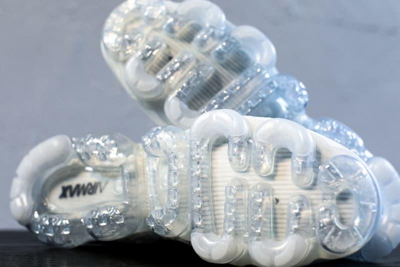 "Virgil Abloh x Nike Air VaporMax Flyknit ""White"" の細部を捉えたフォトセットを解禁 『HYPEBEAST』が独自で撮影したディテールフォトをチェックせよ"