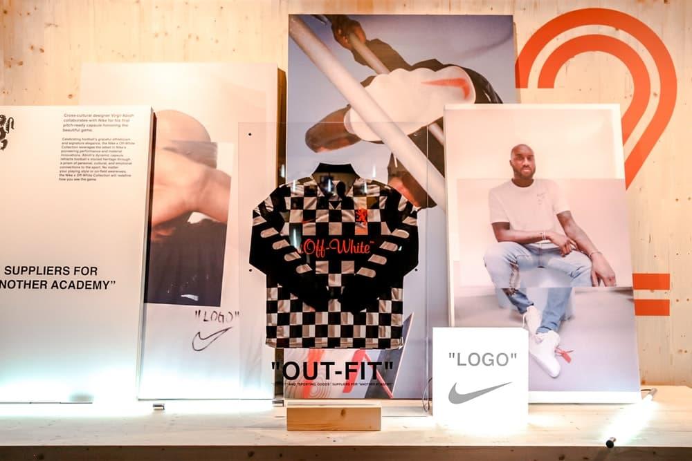 """ヴァージル・アブロー が Nike とのハイブリッドモデルを公開 以前から噂されていた人気フットボールシューズMercurialとVaporMaxを融合させたハイブリッドモデルの全貌が一部明らかに Off-White™️ オフホワイト 2018年秋冬コレクション Nike ナイキ  Virgil Abloh ヴァージル・アブロー Air Jordan 1""""White"""" Nike Footnall 2018 London Instagram インスタグラム Mercurial マーキュリアル The Ten VaporMax Kanye West カニエ・ウェスト adidas Originals アディダス オリジナルス Mercurial Vapor YEEZY BOOST 350 V2 Butter HYPEBEAST ハイプビースト"""