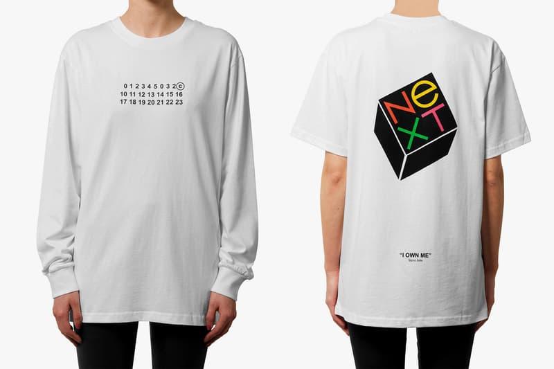 ベルリン発のアートマガジン 032c がブートレグTシャツ2型をリリース エイズTや足袋シューズでお馴染みの〈Maison Margiela〉とスティーブ・ジョブズが以前立ち上げた「NeXT」にフォーカス UNDERCOVER アンダーカバー TAKAHIROMIYASHITATheSoloist. タカヒロミヤシタザソロイスト. Pitti Uomo 93 ドイツ・ベルリン アートマガジン 032c Maison Margiela メゾン マルジェラ Apple アップル Steve Jobs スティーブ・ジョブズ ブートレグ 1997年春夏コレクション カレンダータグ NeXT ネクスト 企業ロゴ HYPEBEAST ハイプビースト