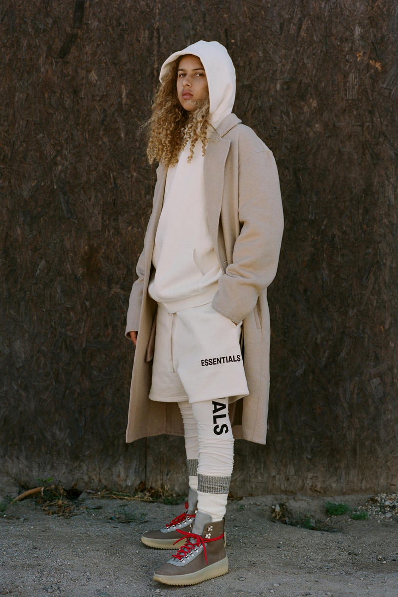 Fear of God ESSENTIALS Collection Jerry Lorenzo