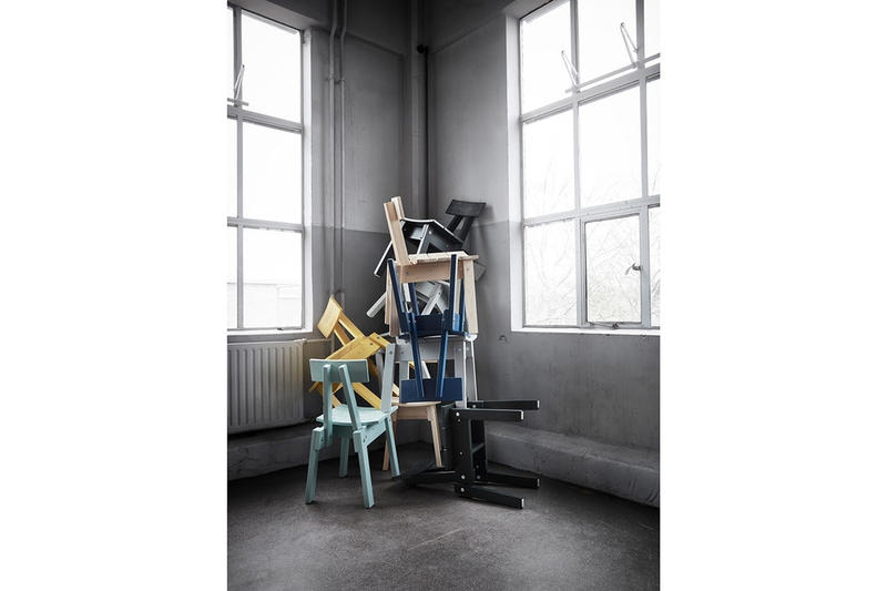 """IKEA より世界が注目するオランダ人デザイナーを迎えたコラボプロジェクト """"Industriell"""" が登場 量産性が当たり前な世の中に""""完璧な不完全さ""""を持つホームグッズを提案 ガジェットブランド Teenage Engineering ティーンエイジエンジニアリング スウェーデン 家具量販店 IKEA イケア Piet Hein Eek ピート・ヘイン・イーク Industriell インドゥストリエル Virgil Abloh ヴァージル・アブロー ペルシア絨毯調のラグ 4つ脚のチェア クッションカバー ガラスコップ HYPEBEAST ハイプビースト"""