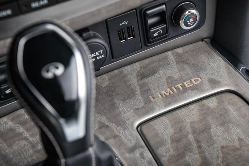 """Infiniti QX80 から高級で金属的光沢感を放つリミテッドエディションが登場 大人の男を虜にする大型SUVの堅牢なフォルムに一層ラグジュアリーな要素を加えた「日産」の意欲作  Infiniti QX80は、どこにでも存在するただのSUVではない。「日産」が誇る先進技術を搭載し、パワフルな走りと広々とした室内空間を特徴とする大型SUVは、小慣れた大人の男たちをも虜にしてしまう極上のドライビング体験を提供してくれる一台なのだ。  微調整を加えた限定エディション""""Anthracite Gray""""は、無骨な22インチ9本スポークアルミホイールを履き、ステンレス製のスチールランニングボード、光沢感のあるクロームグリル、ルーフレール、改良版のフロント/リアバンパーなど、エクステリアは文句なしの仕上がり。また、7人乗りのゆとりある車内は、2トーンのセミアニリンレザーを纏うアルカンタラシート、気孔入りのアッシュウッドトリム、最高級スエードのヘッドライナーと細部まで抜かりなく、400Hp/5.6リッターV8気筒エンジンと「日産」の新しい荷重コントロール技術""""Hydraulic Body Motion Control""""のコンビネーションが、オンロードでの操縦安定性および乗り心地を高度に両立している。  その他にも車線逸脱防止支援システム、インテリジェントクルーズコントロール(全車速追従・ナビ協調機能付)、インテリジェント ルームミラーなどを搭載し、ドライバー目線で設計されたInfiniti QX80は、現代版SUVの中でも最高位に位置するモデルのはずだ。  クルマ好きの方は、「Lexus(レクサス)」が発表した650台限定のRC F Sport Blackラインや、2019年に向けたMustang(マスタング)の新型モデルなどもあわせてご確認を。 HYPEBEAST ハイプビースト"""