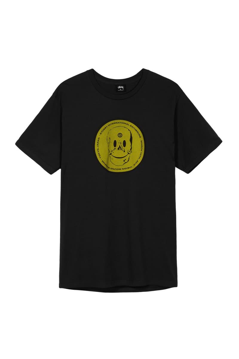INTERNATIONAL STÜSSY TRIBE GATHERING TOKYO 2018 の限定Tシャツがゲリラリリース