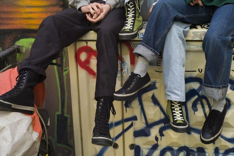 J.W.Anderson x Converse のタッグによる最新フットウェアコレクション第3弾が登場 ヴィンテージのバレエシューズから着想を得たネオクラシックな新作モデルに注目 UNIQLO ユニクロ J.W.Anderson J.W.アンダーソン Converse コンバース ストリートシーン Larry Clark ラリー・クラーク ヴィンテージ バレエシューズ Chuck 70 XX ハイトップ ロートップ ブラック タートルグリーン hypebeast ハイプビースト