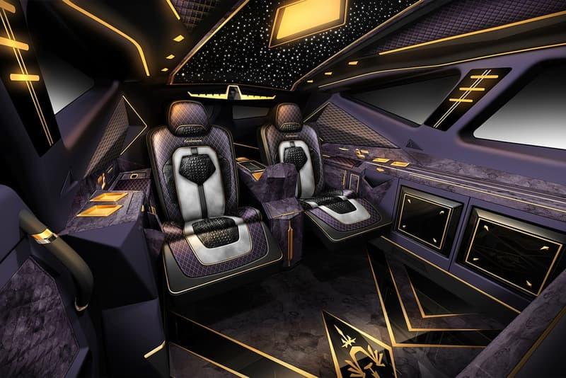 """型破りなポリゴン調デザインと至高の乗り心地を兼備した """"Karlmann King"""" をチェック ドバイの大富豪もたじろぐその驚愕の価格とは…… SUV Karlmann King カールマンキング 4.5トン 防弾仕様 6トン 冷蔵庫 電話機 コーヒーマシン 12台のみ 限定生産 220万ドル 約2億3,226円 HYPEBEAST ハイプビースト"""