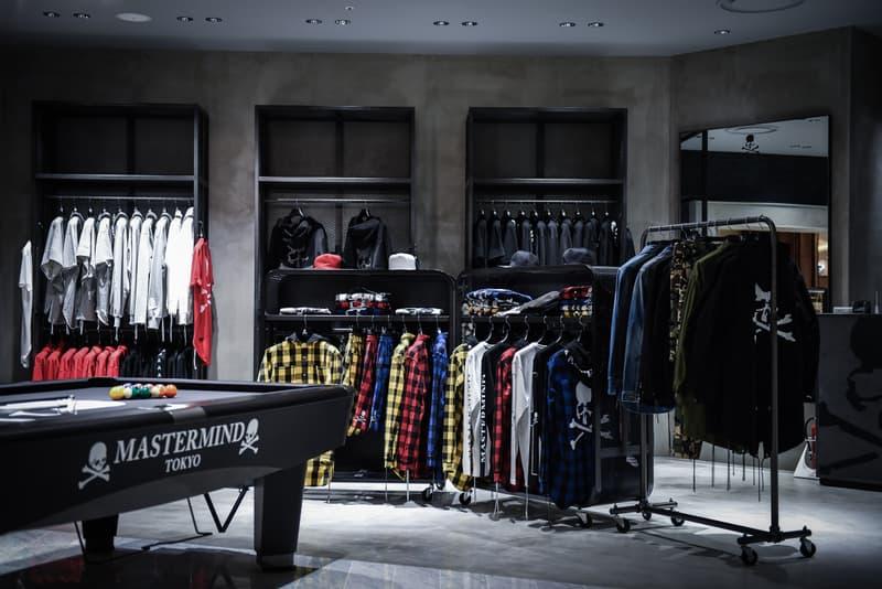 MASTERMIND TOKYO 初の旗艦店を HYPEBEAST が世界初公開 世界が熱視線を向ける複合施設『東京ミッドタウン日比谷』に本間正章の世界観を色濃く反映したダークな空間が爆誕