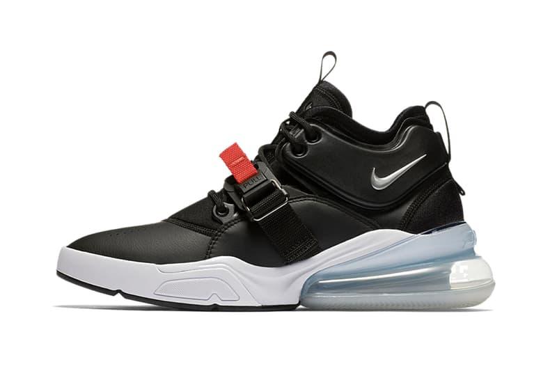Nike よりモノトーンカラーがストイックな印象を放つ Air Force 270 の新作がリリース ナイキ エアフォース