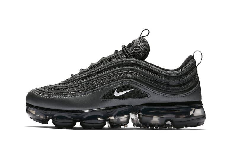 """漆黒の Nike Air Vapormax 97 """"Black Reflect"""" の存在が判明 Air Max Dayに向けてMax PlusとAM97のマッシュアップモデルから待望のブラックカラーが登場か"""
