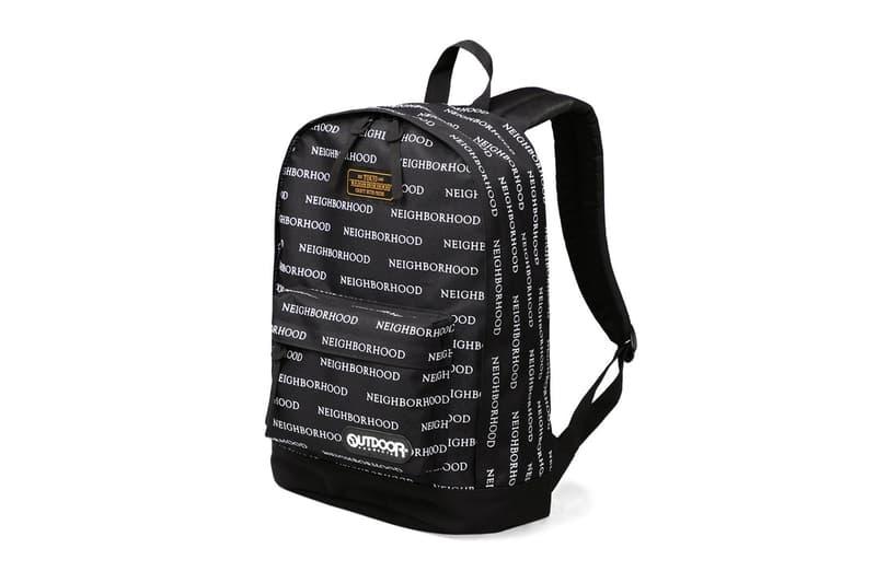 NEIGHBORHOOD x Outdoor Products Bags Collection Black White ネイバーフッド アウトドア ブラック ホワイト バックパック ダッフル HYPEBEAST ハイプビースト
