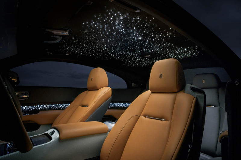 Rolls-Royce Wraith Luminary Edition Car Luxury